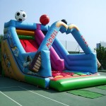 Castell inflable – tobogan Sport