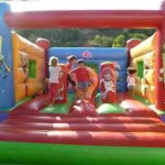 Castell inflable botty Bob Esponja