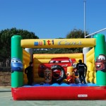castell inflable-botty Cars