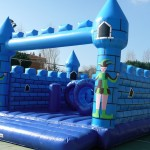 Castell inflable botty castell blau
