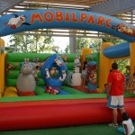 Castell inflable- botty Madagascar