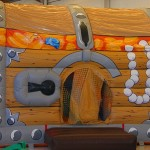 Castillo Hinchable – Piscina de bolas Cofre