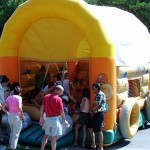 Castell inflable piscina de boles Oest