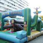 castell inflable – pista apatxe