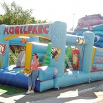Castell inflable- Pista mar