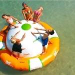 Hinchable 360º  acuático