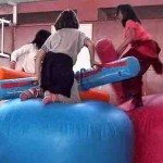 Inflable gladiadors