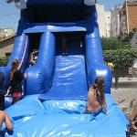 Inflable tobogan dofi refrescant