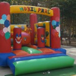 Castell inflable – botty Mòbilparc petit